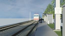 Ingenieurbuero Bertels Münster Berlin Bahnhof Reckenfeld BIM