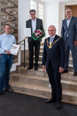 Ingenieurbuero Bertels Münster Berlin CSR Urkunde