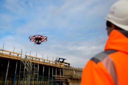 Ingenieurbuero Bertels Münster Berlin Befliegung mit Drohnen